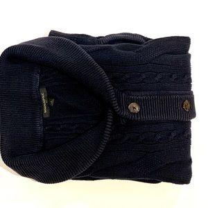 Banana Republic Cable Knit Shawl Sweater
